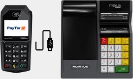 Novitus Mała Online połączona z terminalem płatniczym