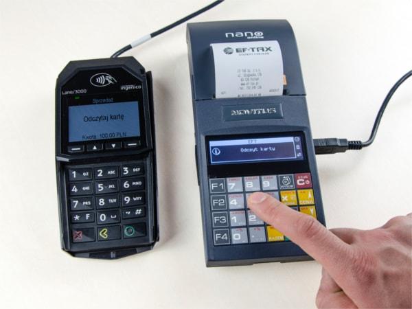 Novitus Nano Online z terminalem płatniczym