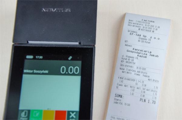 Faktura wprost z Novitus One Online GSM