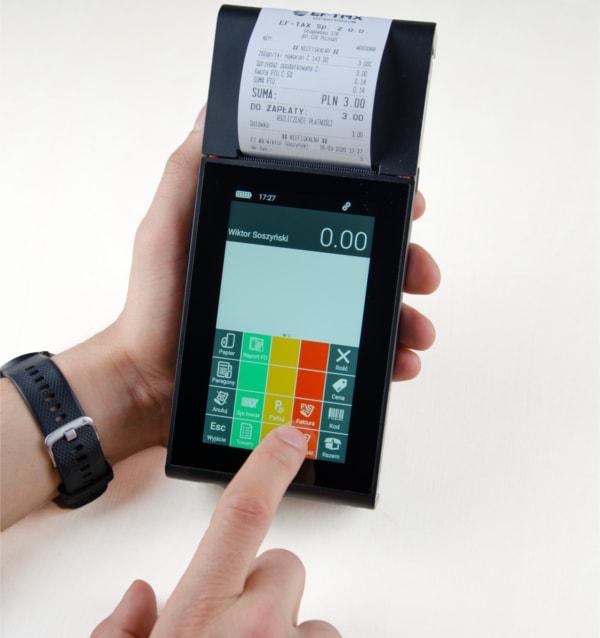 Novitus One Online GSM- dotykowa kasa fiskalna