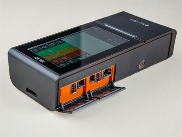 Porty komunikacyjne w Novitus One Online GSM