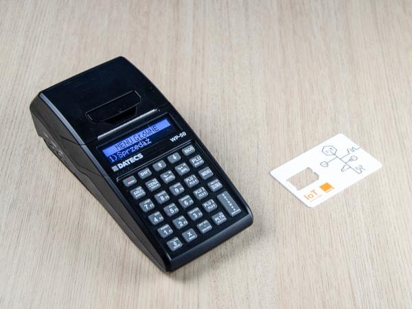 Datecs WP-50 z własnym internetem